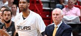 Reports: Spurs' Duncan silent about future, Popovich wants to return