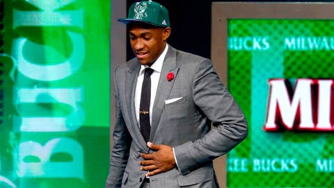 Bucks get No. 2 overall pick in NBA Draft, select Jabari Parker