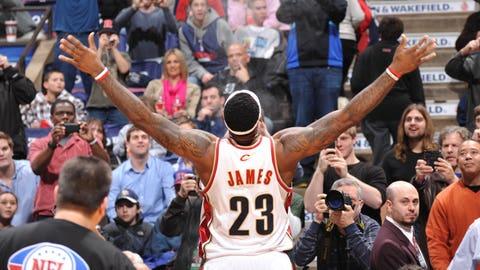 Return of the king...