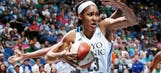 Maya Moore scores 48 points vs. Atlanta, second-most in a WNBA game