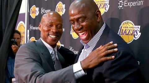 9. Byron Scott, Lakers