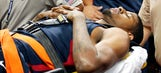 Coach K, Floyd Mayweather check in on Paul George in hospital