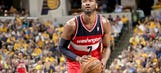 John Wall shows off 'Great Wall' tattoo while sitting on Great Wall of China