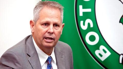 Danny Ainge, president, Boston Celtics