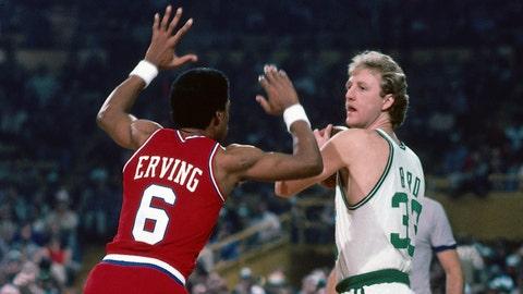New York Knicks: Tony Riker over Julius Erving (1972, Pick No. 8)