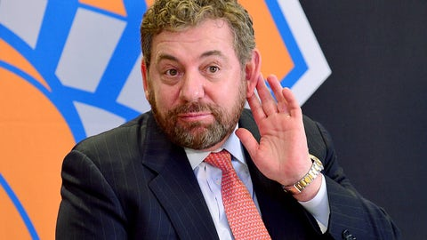Keep James Dolan out of the spotlight