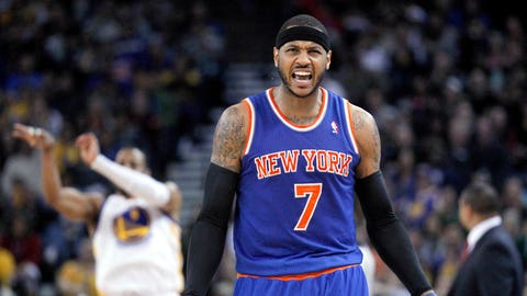 4. Carmelo Anthony, SF New York Knicks: $22,458,401