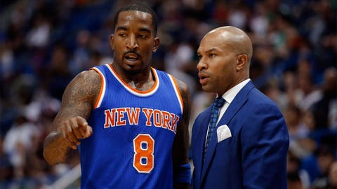 Derek Fisher joins Phil Jackson in New York