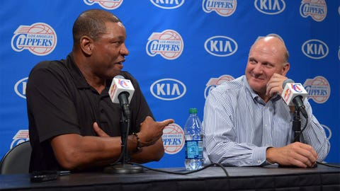 Steve Ballmer allows the Clippers to forget about Donald Sterling