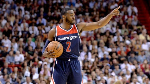 3. John Wall, PG, Washington Wizards