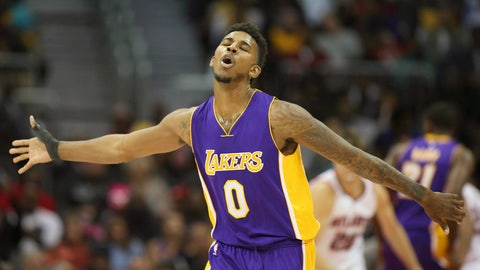 Nick Young (of all people) became a leader