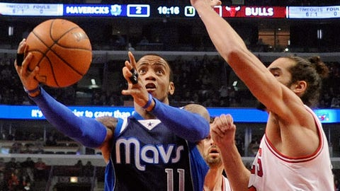 No. 7 Dallas Mavericks vs. No. 10 Chicago Bulls