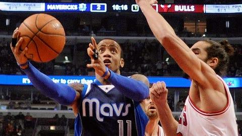 No. 7 Dallas Mavericks vs. No. 10 Chicago Bulls