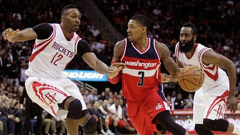 No. 6 Houston Rockets vs. No. 11 Washington Wizards