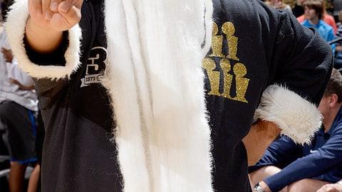 Santa's got the bling