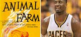 Pacers' Hibbert keeps up Twitter gold with critique of  'Animal Farm'