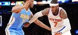 Knicks coach Fisher: Carmelo Anthony 'a full go' after knee surgery
