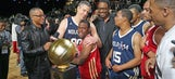 Secretary of education takes everyone to school in celebrity All-Star Game