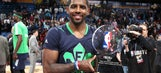 King who? Irving leads LeBron, East to record-setting All-Star win