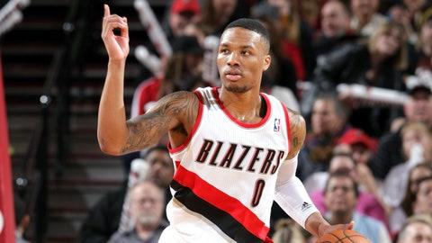 Portland Trail Blazers (45-37)