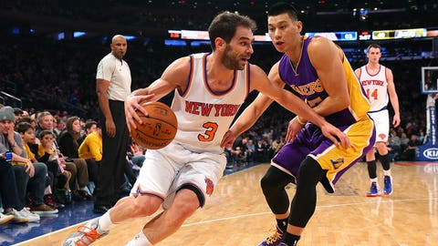 Jose Calderon, 33, New York Knicks