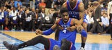 Nerlens Noel dishes gorgeous assist to Henry Sims