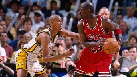 Killer instinct/clutch performance: Michael Jordan