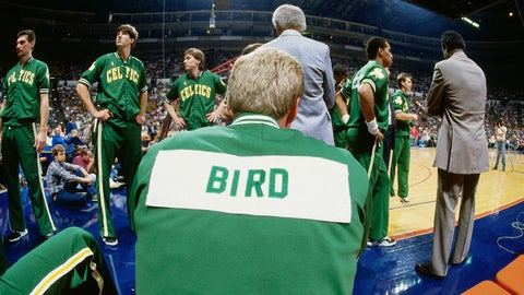 Larry Bird: 12-time All-Star