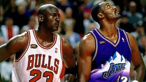 Karl Malone -- 2-time MVP (1996-97, '98-99)