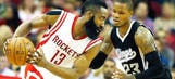 James Harden's career-high 51 points boost Rockets over Kings