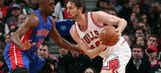Pistons lose cool, Bulls take advantage in 111-101 win