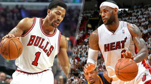 Derrick Rose beats LeBron James, 2010-2011 NBA MVP