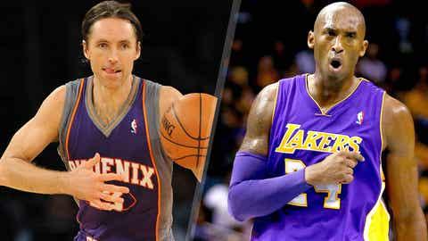Steve Nash crushes Kobe Bryant, 2005-2006
