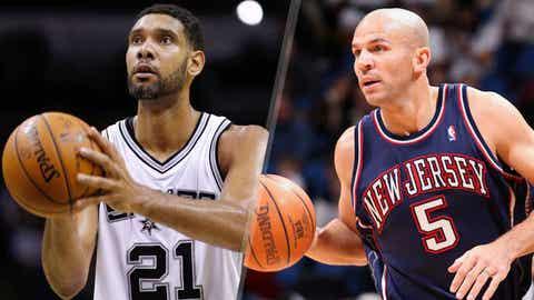 Tim Duncan over Jason Kidd: 2001-2002
