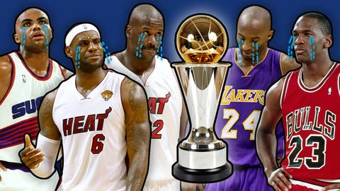 Remember when Kobe, LeBron and MJ got robbed? The Top 6 most infuriating NBA MVP winners of all time