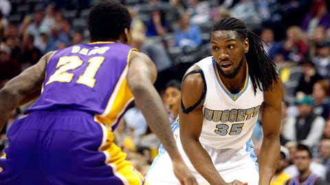 Nuggets best: Kenneth Faried (80 overall)