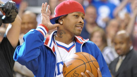 Allen Iverson: 11-time All-Star
