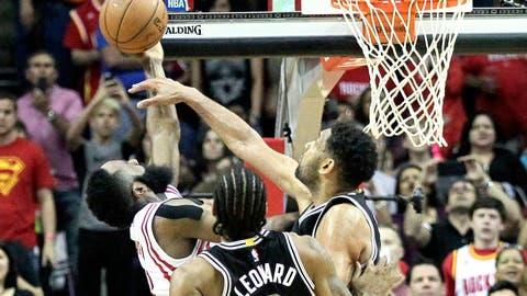 Spurs at Rockets: Dec. 25, 8 p.m. ET (ESPN)
