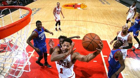 7. Derrick Rose, Chicago Bulls, 2012