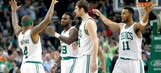 Celtics' Jae Crowder hits ridiculous game-winner to clinch No. 7 seed