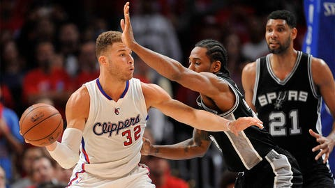 Defensive Player of the Year: Kawhi Leonard, San Antonio Spurs