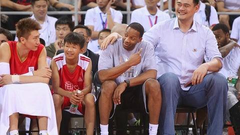 Yao Ming vs. Tracy McGrady