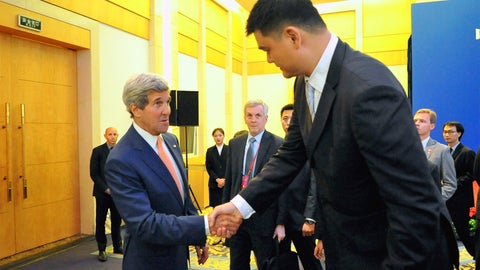 Yao Ming vs. John Kerry