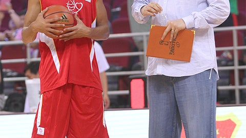 Yao Ming vs. Joakim Noah