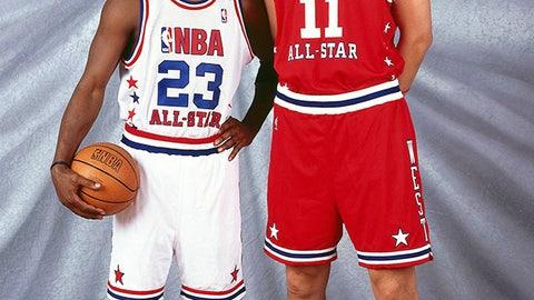 Yao Ming vs. Michael Jordan