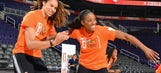 Glory Johnson reportedly seeking spousal support from Brittney Griner