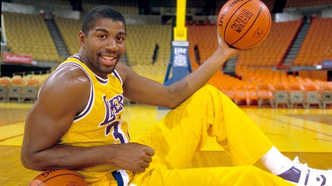 Magic Johnson, point guard