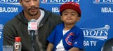 Coolest kid ever? Derrick Rose's 2-year-old son, judging by these memes