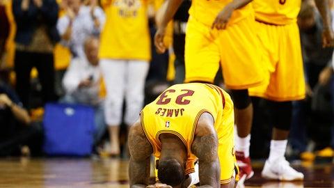 2014-15: East finals: Cavaliers 4, Hawks 0