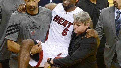 2011-12 NBA Finals: Heat 4 ,Thunder 1